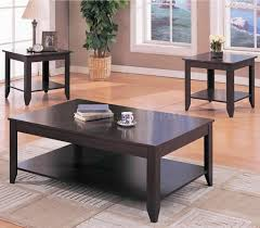 Living Room Sets With Tables Coffee Table Astonishing Coffee Table Sets Ideas Cool Black