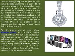 s day birthstone rings family birthstone jewelry in lovely designs and with custom finishes