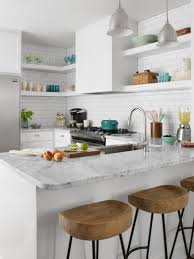 Space Saving Kitchen Ideas Kitchen Simple Elegeant Small Galley Kitchen Design With Simple