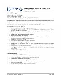 resume templates accounting assistant job summary exle accounting clerk sle jobtion templates resume pictures hd