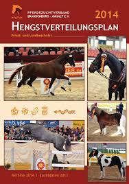 Pferdezentrum Bad Saarow Calaméo Hvp Deutsches Sportpferd 2014