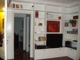 libreria ponte librerie e soggiorno creo casa in falegnameria su
