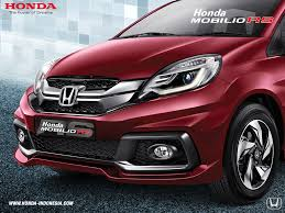 honda indonesia mobilio launch confirmed by u0027end of july u0027 sporty rs variant