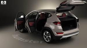 2011 hyundai tucson interior hyundai tucson with hq interior 2016 3d model hum3d