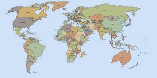 France World Map World Map A Clickable Map Of World Countries Within Labeled Map Of