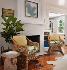 Living Room Wicker Furniture 10 Ways Decor To Give A Coastal Summer Update