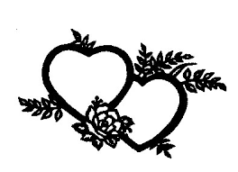 heart cake toppers glass heart wedding cake toppers clipart