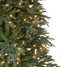Decorative Trees With Lights Home Accents Holiday 10 Ft Pre Lit Led Meadow Quick Set