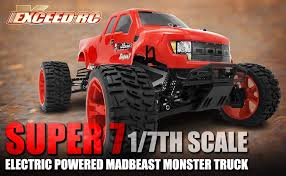 amazon exceed rc 1 7 scale super 7 ep electric powered