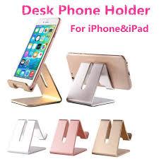 Iphone Holder For Desk by 2017 Metal Desk Phone Holder For Iphone U0026ipad Triangle Mechanics