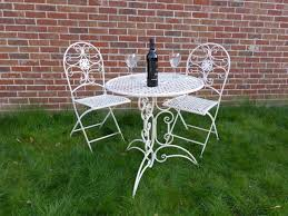 Wrought Iron Patio Furniture Vintage Garden Bench Wooden Bench Garden Table Cast Iron Chairs Wooden