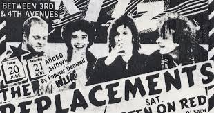 Vanity Fair Hitchin A Ride The Replacements Live Archive Project June 20 1986 The Ritz
