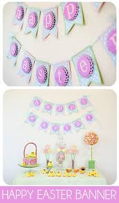 Easy Easter Paper Decorations by 25 Best Happy Easter Banner Ideas On Pinterest Easter Banner