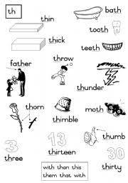 english teaching worksheets consonants diagraphs pinterest