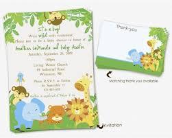 4 brilliant free printable safari baby shower invitations