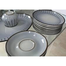 superb denby mid century modern dinnerware set dishes plate soup