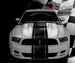Black 2014 Mustang Mustang Hood 2013 2014 Gt V6 Mustang Mongoose Ram Air Performance