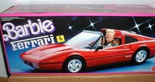 started barbie ferrari u2013 car chic