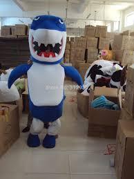 halloween mascot costumes cheap online get cheap mascot shark aliexpress com alibaba group