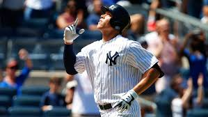 Aaron Judge Breaks Mlb Rookie Record With 50th Home Run Rolling Stone - aaron judge game worn jersey breaks record at auction rolling stone