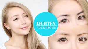 lighten your brows with this eye brow bleaching tutorial beauty