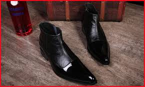 best selling england men dress boots ankle booties motorcycle