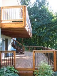 cantilevered deck matthew g hunter deck porch and patio exles
