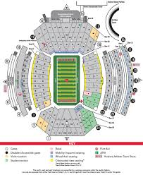 Buffalo State College Map by Football Stadium Maps Huskers Com Nebraska Athletics Official