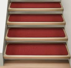 stair simple modern straight stair designed with light brown tread