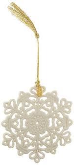 lenox 2017 snow fantasies snowflake ornament home
