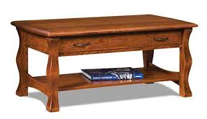 Open Coffee Table Amish Living Room Coffee Table The Amish Market Amish Crafted