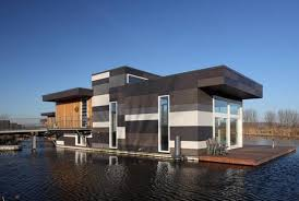 Floating Houses Comfortable Floating Houses In Holland
