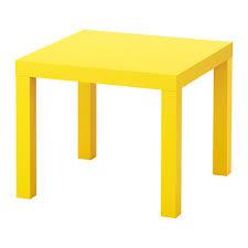 Yellow Side Table Ikea Lack Side Table Yellow Ikea