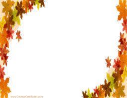 Thanksgiving Leaf Template Thanksgiving Border Images Free Thanksgiving Borders Happy Border