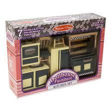 dollhouse furniture kitchen set 7 pieces 1 12 scale radar toys