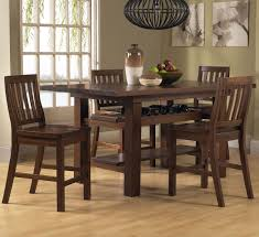 Dining Room Table With Wine Rack Dining Room Wine Rack That Combined In The Brown Rectangular