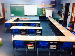 Classroom Desk Organization Ideas Desk Arrangement Option For When You Can T Quite Make A U