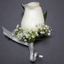 boutineer cost order the white babies breath boutonniere flowers from