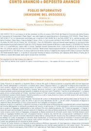ing direct sede legale conto arancio e deposito arancio pdf