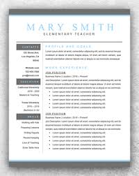teaching resume templates resume template start professional resume templates for word