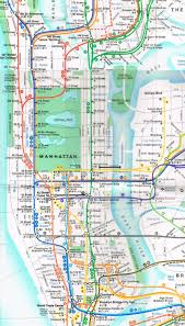 Queens College Map 15 Subway Maps That Trace Nyc U0027s Transit History