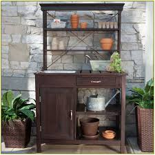 potting bench with sink home design ideas