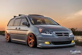 stanced honda odyssey cartuning best car tuning photos from