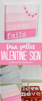 diy decor fails craft faux pallet s day sign this diy sign is for