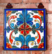 Kitchen Tile Murals Tile Art Backsplashes by Talavera Tile Decorating With Talavera Tiles Pinterest
