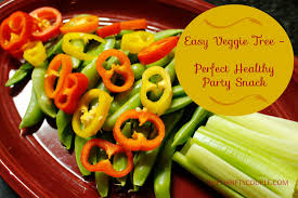 veggie tree healthy appetizer idea