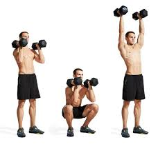 Dumbbell Bench Press Form Squat Press