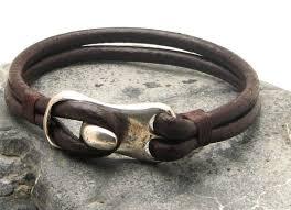 bracelet men leather images Fast shipping christmas gift for him men 39 s bracelet jpg