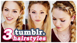 3 easy hair tutorials youtube