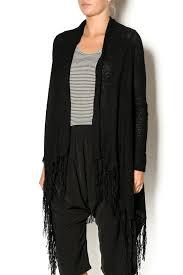 black fringe sweater alythea black fringe sweater from utah by q clothing shoptiques